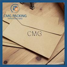 Enveloppes en papier Kraft Papier Recyclé