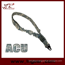 Acu Camo Military Tactical Airsoft Paintball Bungee One Gun Single Point Rifle Sling