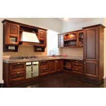 Haverford Shaker (Java) Cabinet de cozinha de madeira maciça