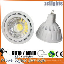 High Power Epistar CE RoHS 12V COB 6W Gu5.3 MR16 LED Spotlights