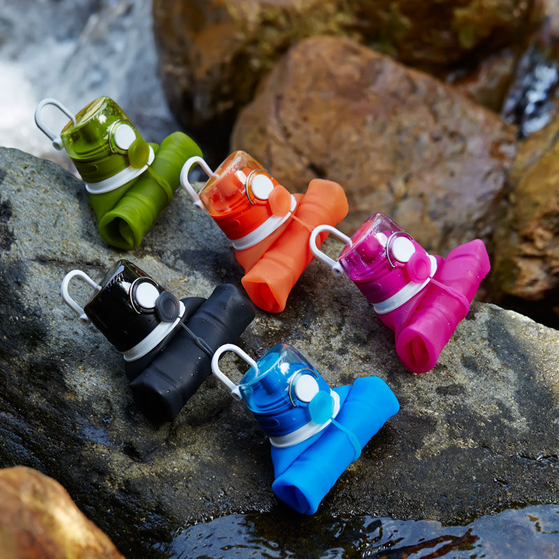 Outdoor Collapsible Filter Water Bottle