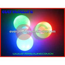 bolas de golfe iluminadas diodo emissor de luz do arco-íris venda QUENTE 2016
