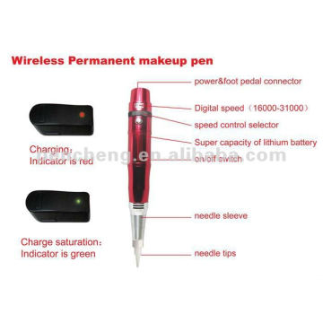 wireless Permanent makeup pen& Eyebrow Tattoo Equipment