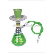 Boa qualidade preço barato Mini narguilé mini narguilé água fumar cachimbo narguilé mini portátil cachimbo de água