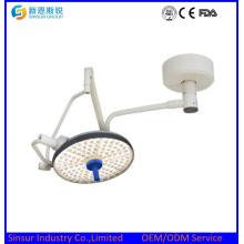 Lámpara de funcionamiento sin sombras montada en el techo de una sola cabeza