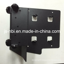 Fabrication Part for Customized Machine with Black Powder Coated
