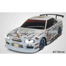 VRX Racing X-Ranger EBD dérive électrique version voiture, blanc, 1/10 scale
