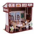 Restaurante ocidental do enigma 3D
