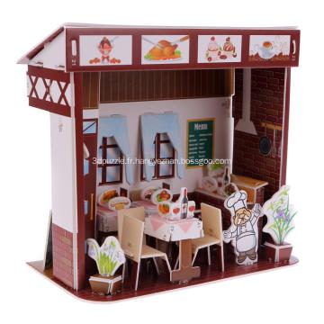 3D Ouest Restaurant Puzzle