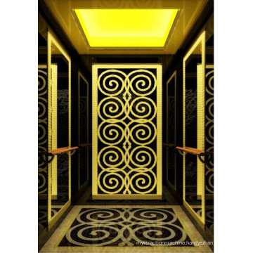 Classical Cabin Passenger Elevator with Double Handrail