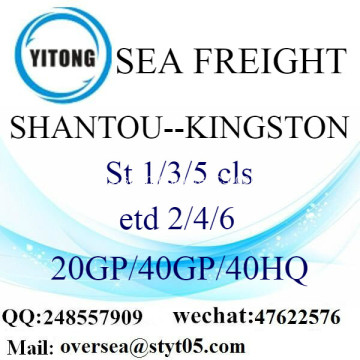 Shantou Port Sea Freight Shipping ke Kingston