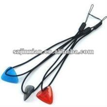 charming braided lanyard strap