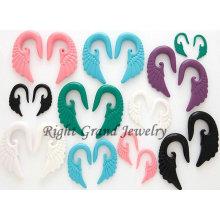 UV Acrylic Angel Wing Ear Spiral Taper