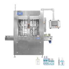 High quality automatic liquid hand sanitizer shampoo soap filling machines