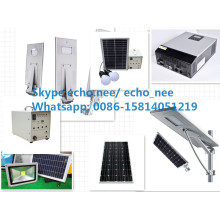 100W Aluminum Lamp Body Material Solar Street Light