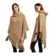 2017 winter women wear fashion ponchos for women ponchos knitted sweaters pullovers