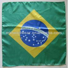 Wholesale World Cup Imitation Silk Satin Football Headband Scarf
