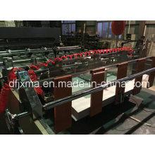 100GSM Papierrollenschneidemaschine mit Coreless Abwickeln