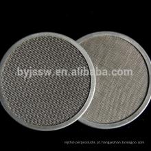 Malha de filtro de aço inoxidável de 10 microns (Fabricação)