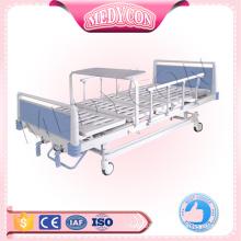 steel plate 2 crank hospital manual bed