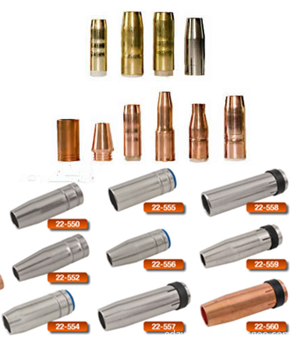 23-50 Tweco Copper Nozzle