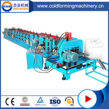 C Sectional Metals Purlin Cold Roll Forming Machine