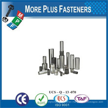 Made In Taiwan stainless steel Drive Rivet Pin Head Drive Rivet pin screw