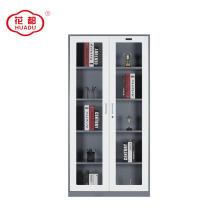 2018 steel furniture glass door display office equipment cabinet