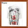 La camiseta de impresión Clown Graffiti