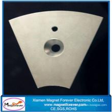 Generador de neodimio fuerte sinterizado de NdFeB / motor / elevación / imán permanente del altavoz