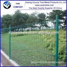 china manufacturer PVC Coated Curvy Welded Wire Mesh Fence Panel With High Quality at low price