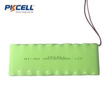 12V AA recargable NIMH batería 2000 mah