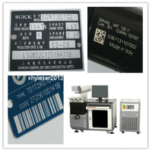 Laser Marking Machine for Metal Label with Coding Number