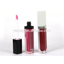 Excelente calidad bajo precio fabrica cosmética labial larga duración con cepillo