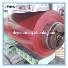 Bobina de acero prepintada PPGI con varias normas AISI ASTM EN JIS