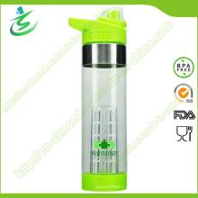 Botella de agua de infusión de frutas de 650 ml BPA Free Custom