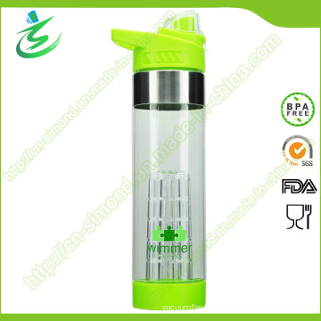 650ml Fruit Infuser Water Bottle BPA Free Custom