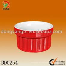 Plato de cerámica redondo al por mayor directo de la fábrica