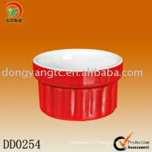 Factory direct wholesale round ceramic dish