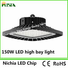 Luz de alta potencia de la bahía de 100W 150W Nichia Chip High Power LED con forma cuadrada