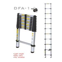 Промышленная лестница с алюминиевым покрытием Telesteps