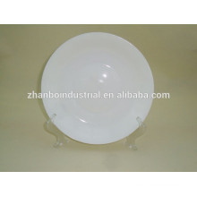 White porcelain fruit plate/dish