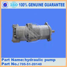 705-51-20140 ORIGINAL OEM KOMATSU WA320-1 pump