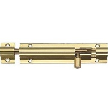 interior wooden metal brass door bolt