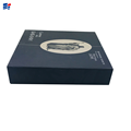 Black book shape wine cardboard box