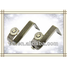 square curtain rod bracket,curtain rod ceiling brackets,curtain rod end bracket