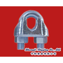 Type US Clip de câble métallique malléable