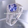 novo design marquise champanhe forma cz 925 anel de prata esterlina