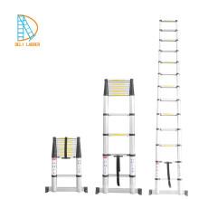 Escada telescópica multifunções em alumínio