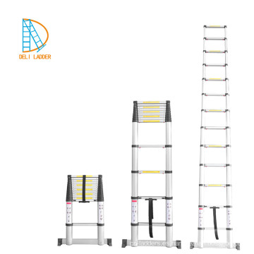 4.4M Nueva escalera telescópica de aluminio con tratamiento de electroforesis
